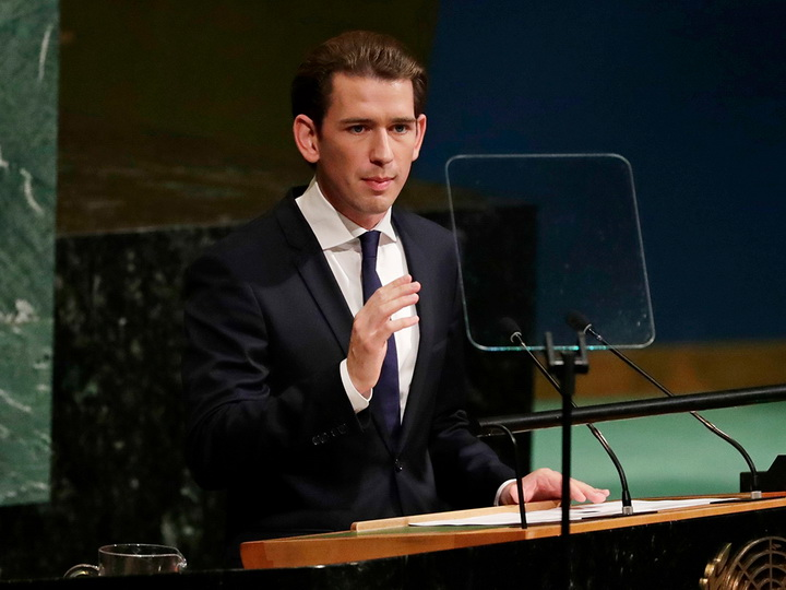 ВАвстрии поведали опродолжении курса заснятие антироссийских санкций