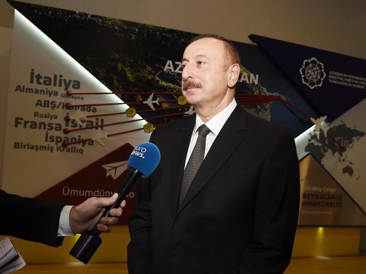 Ильхам Алиев встретился сгубернатором Астраханской области