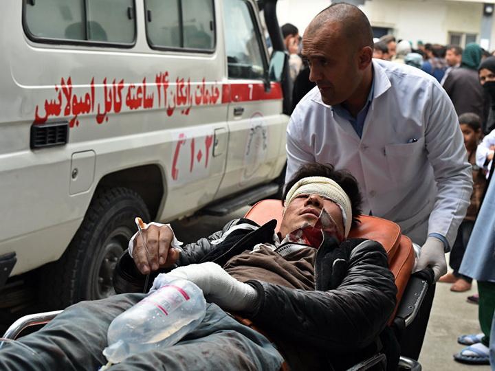ВАфганистане в итоге подрыва автомобиля погибли два человека