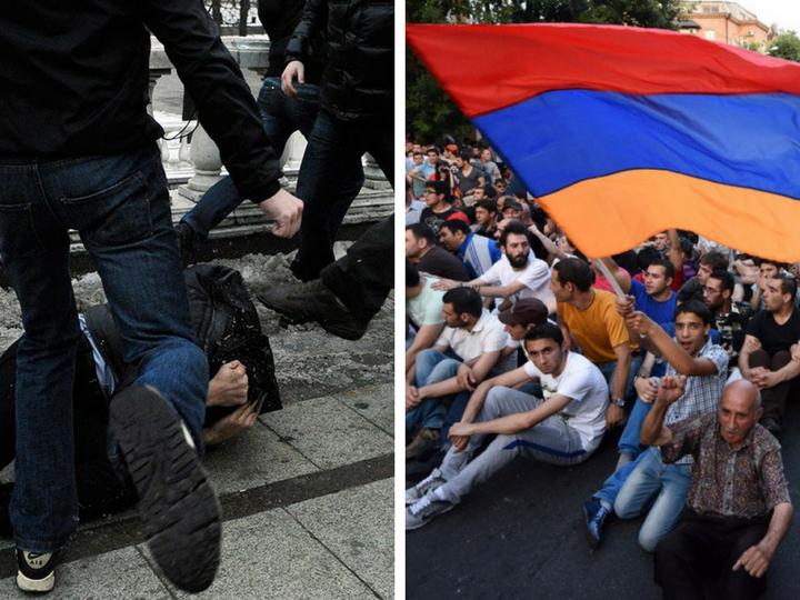 Армянская оккупация побережья Черного моря и уничтжение ингушей чужими руками