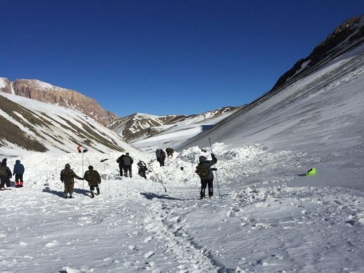 Alpinistlərin axtarışı davam edir - FOTO – YENİLƏNİB