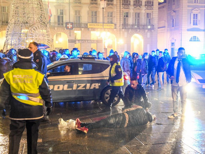 В Турине прогремел взрыв, пострадали четыре человека - ФОТО