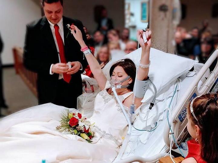 Американка успела выйти замуж занесколько часов досмерти - ФОТО