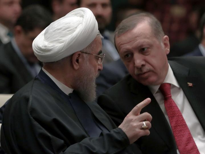 Эрдоган и Рухани обсудили ситуацию в Иране