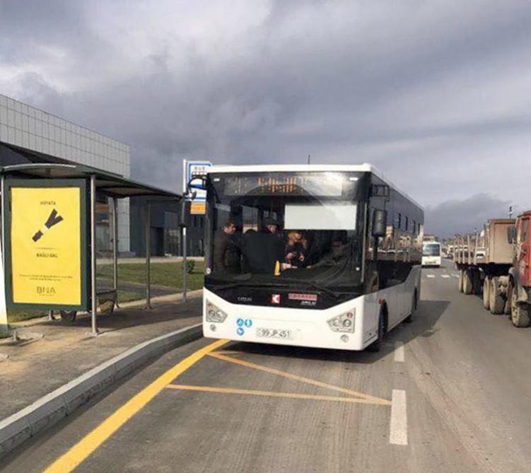 133 nömrəli marşrut xətti üzrə yeni avtobuslar istifadəyə verilib