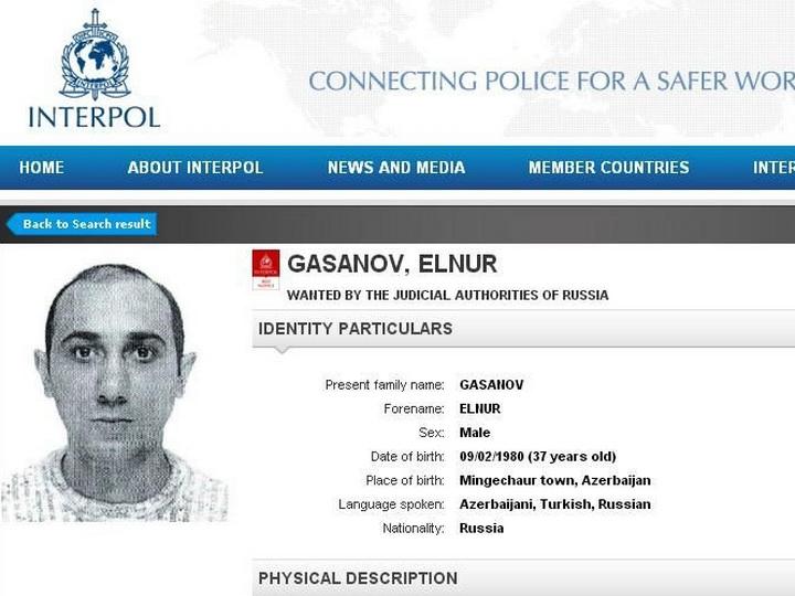 Россия объявила в розыск по линии Интерпола обвиняемого в терроризме азербайджанца