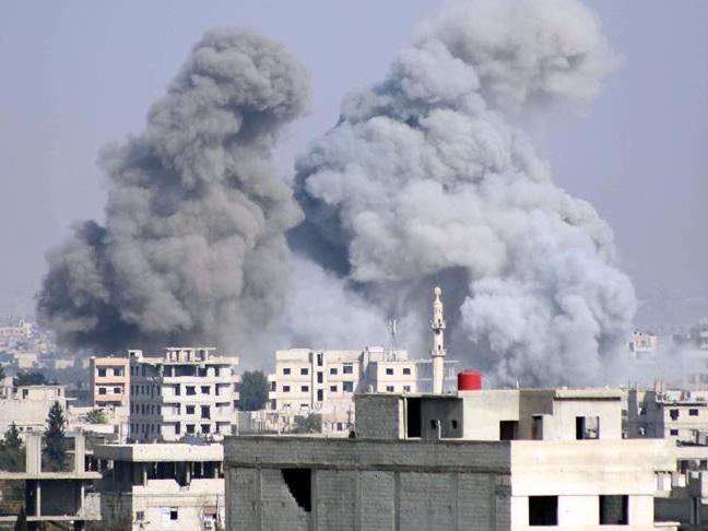 РФнанесла авиаудар пожилым районам вСирии, десятки погибших