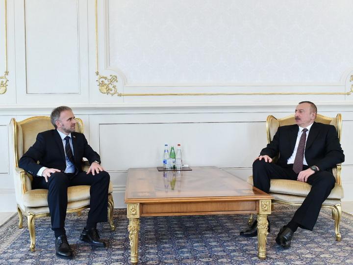 Президент Азербайджана принял верительные грамоты нового посла Боснии и Герцеговины - ФОТО
