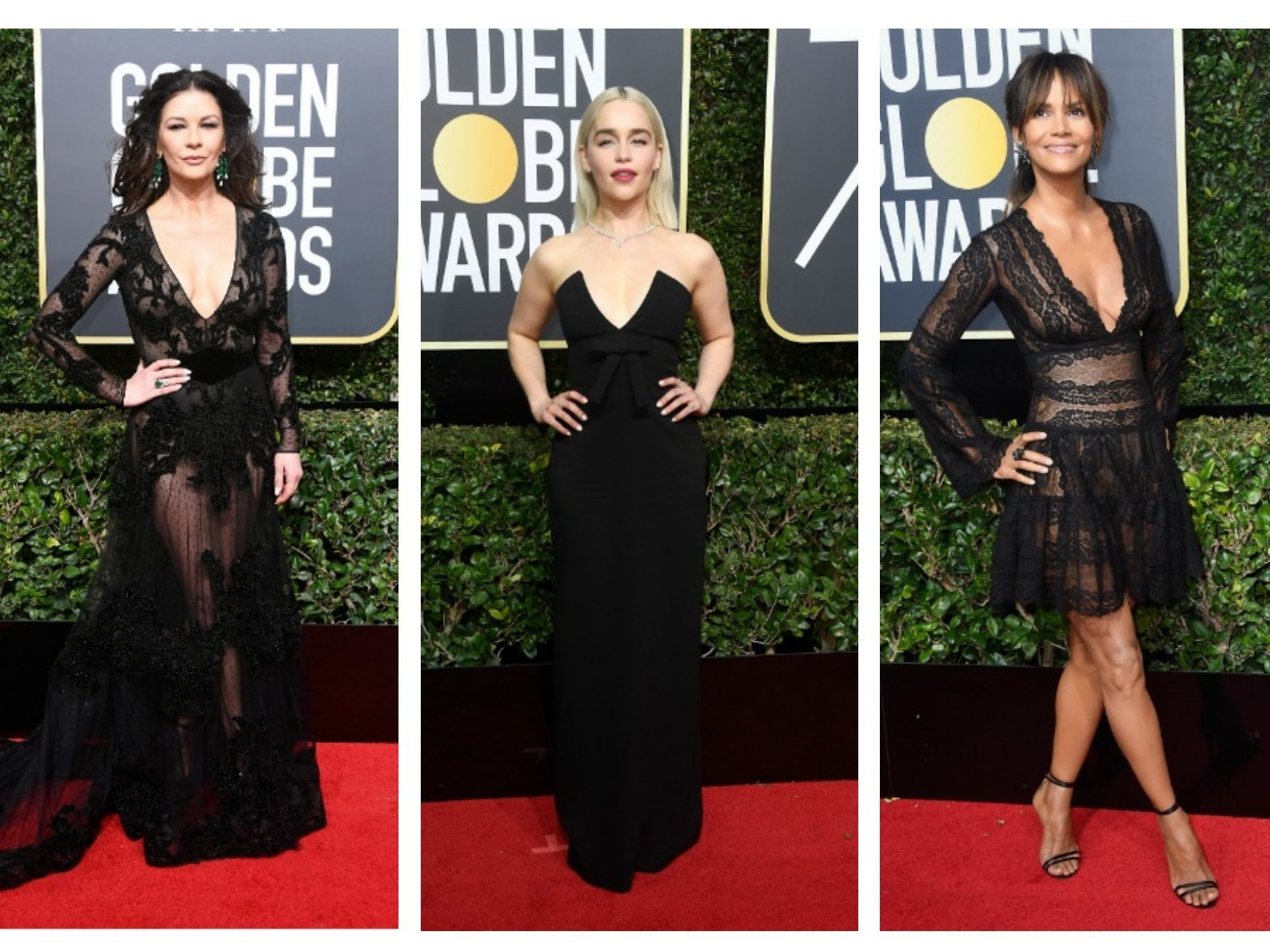 Ladies in black: актрисы оделись в черное на «Золотой глобус-2018» в знак протеста против домогательств – ФОТО