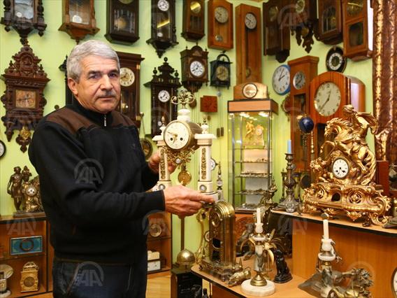 Турецкое издание написало об азербайджанском коллекционере часов - ФОТО
