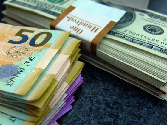 Обнародован курс маната к доллару США на 12 января