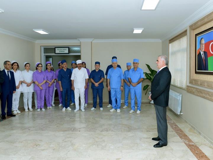 В Нахчыванской Автономной Республике сдана в эксплуатацию Центральная детская больница имени Азиза Алиева - ФОТО