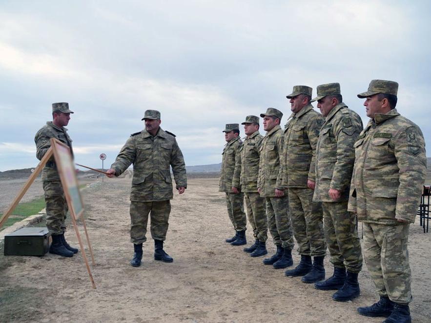 Согласно плану боевой подготовки ВС проводятся стрельбы в полевых условиях – ФОТО