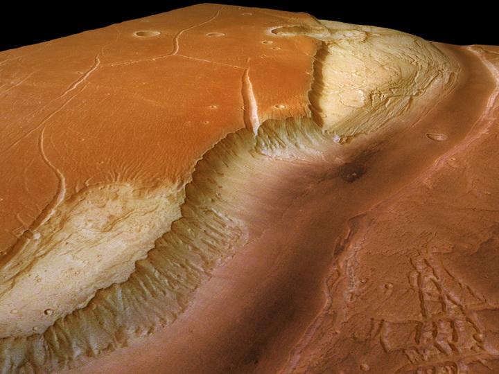 Астрономы выяснили, где лучше всего строить базы на Марсе