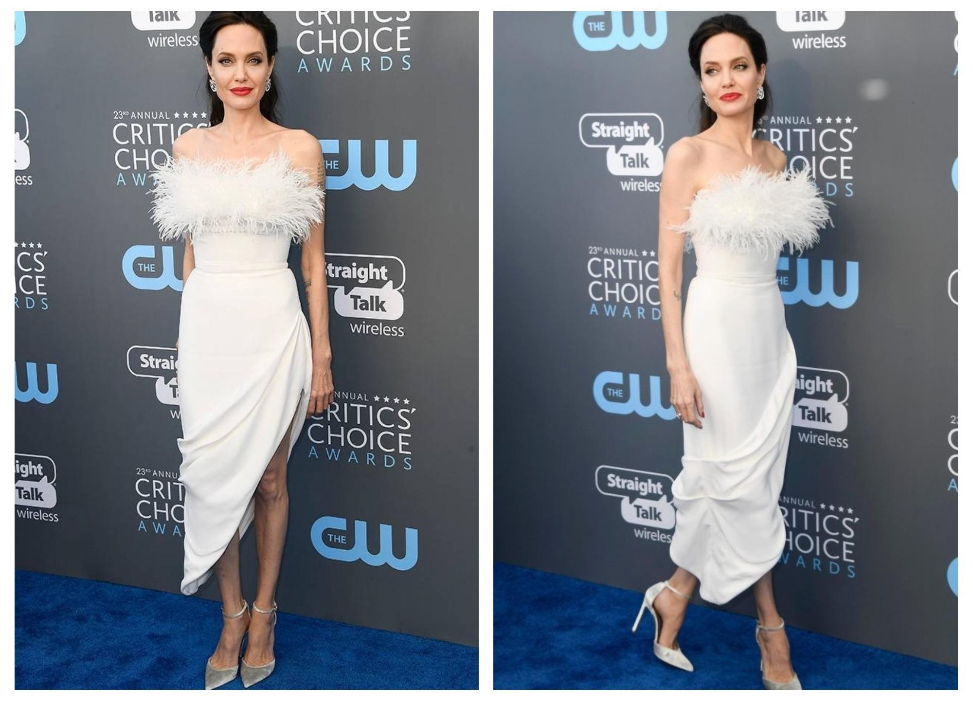 Словно невеста: Анджелина Джоли вновь затмила всех на красной дорожке – ФОТО