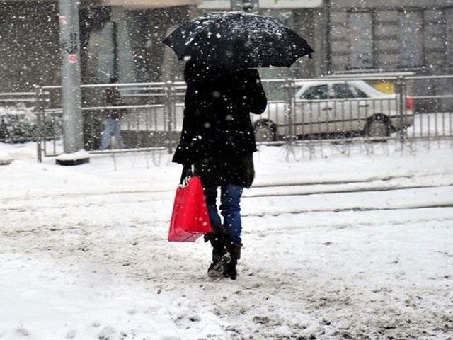 В Баку и на Абшероне в воскресенье возможен мокрый снег