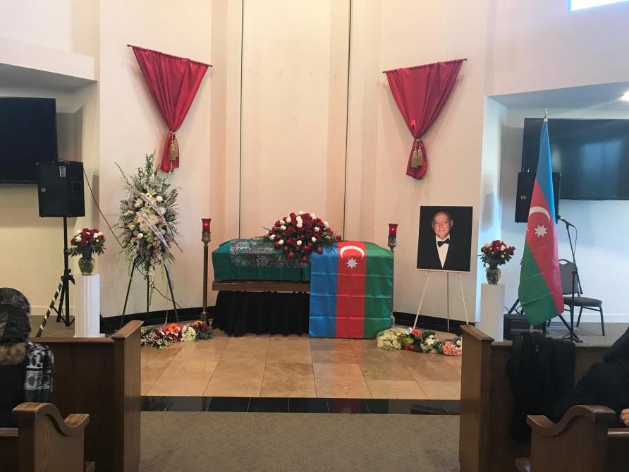 В Калифорнии состоялась церемония прощания с народным артистом Азербайджана Чингизом Садыховым