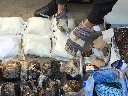 Полиция за день вывела из оборота 5,5 кг наркотиков