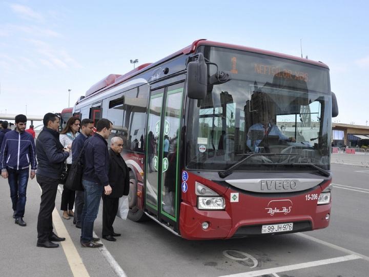Поездки на общественном транспорте в Баку можно будет планировать через мобильное приложение - ФОТО