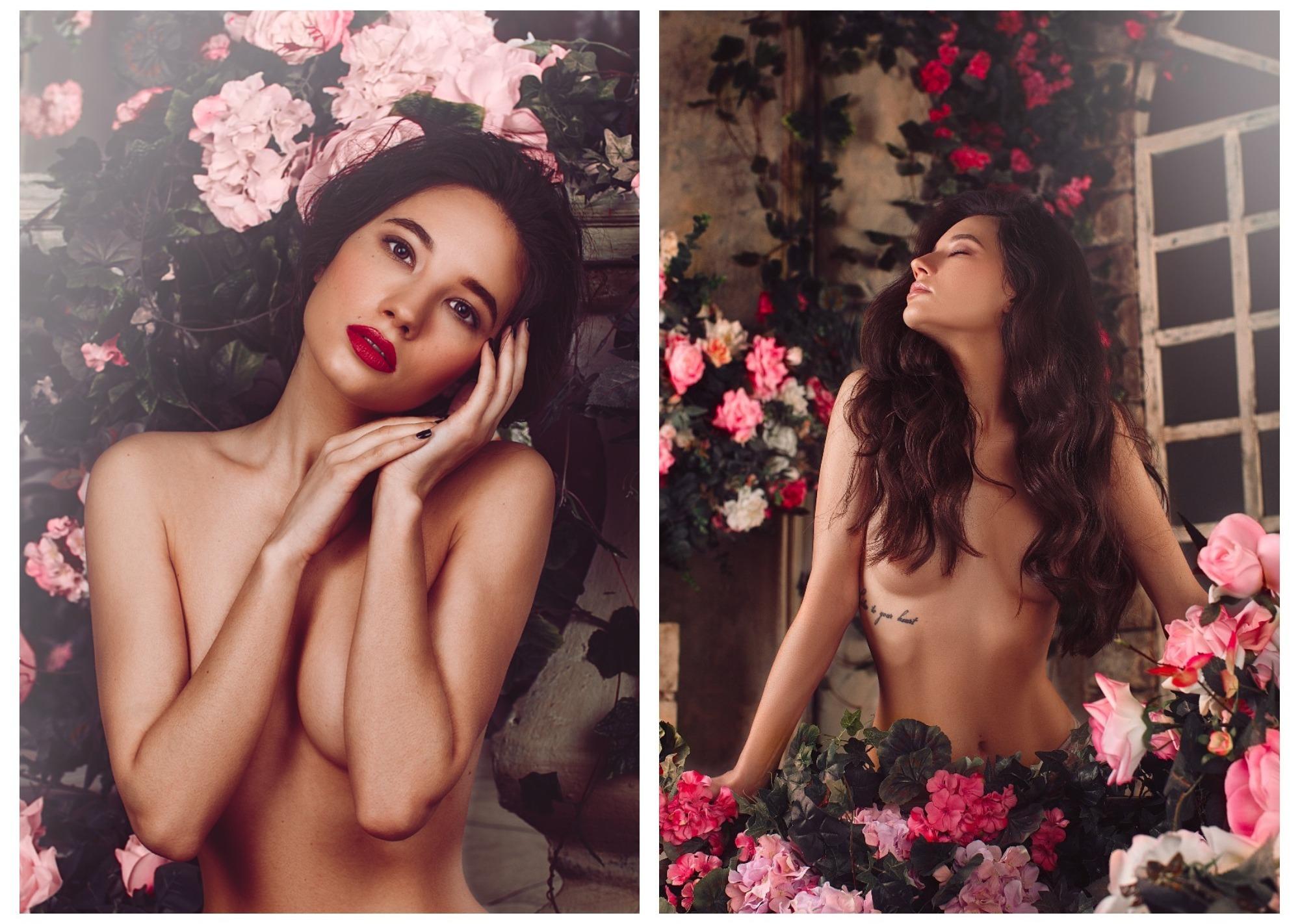 Московская модель обнажилась в объективе азербайджанского фотографа – ФОТО