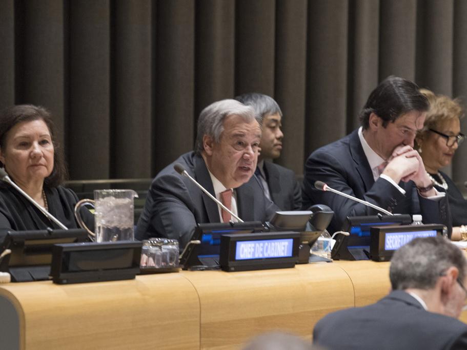 Антониу Гутерриш об урегулировании нагорно-карабахского конфликта