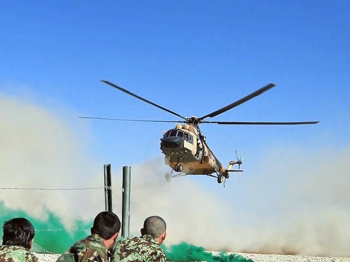 Семь человек погибли при крушении вертолета вКолумбии