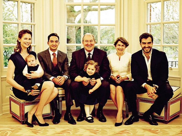 Саргсян определил преемника на посту президента Армении