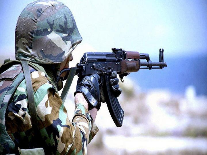 ВС Армении из снайперских винтовок обстреляли азербайджанские позиции