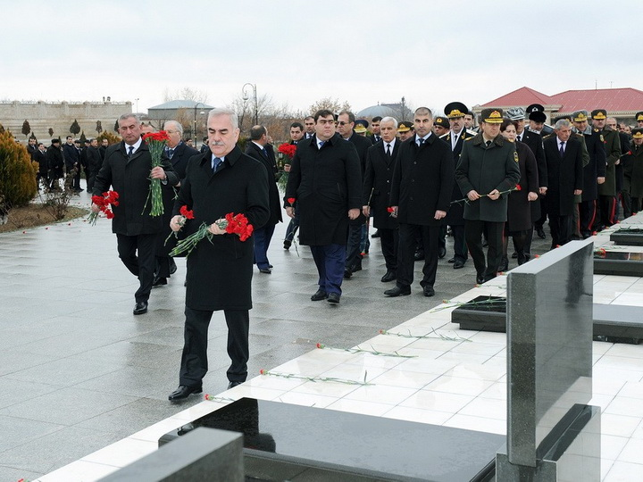 В Нахчыване отмечена 28-я годовщина трагедии 20 Января - ФОТО