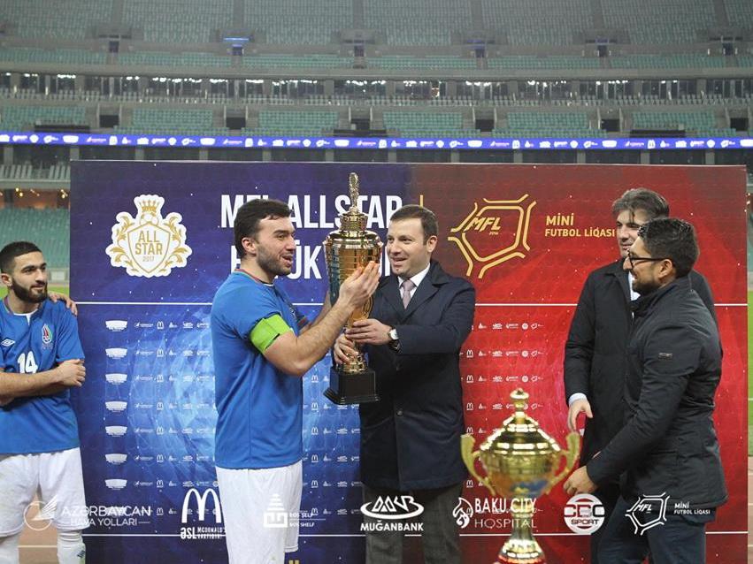 MFL All STAR: невероятный матч с участием любителей на Бакинском Олимпийском стадионе! – ФОТО - ВИДЕО