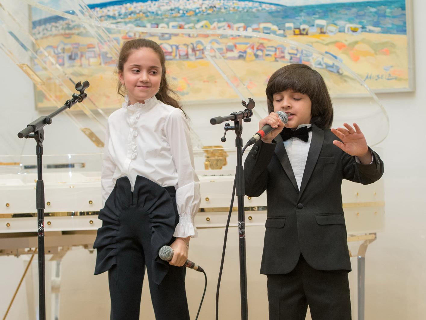 Юные азербайджанские исполнители выступили с концертом в Вене – ФОТО – ВИДЕО