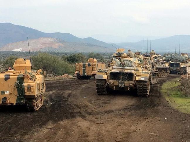 Турецкие ВС продвигаются к Африну с нового направления