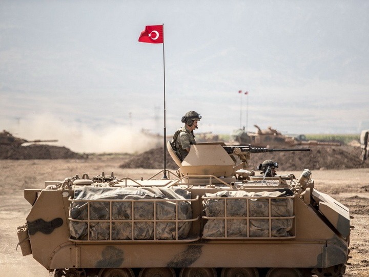 ВТурции милиция  разогнала акции против военной операции вСирии