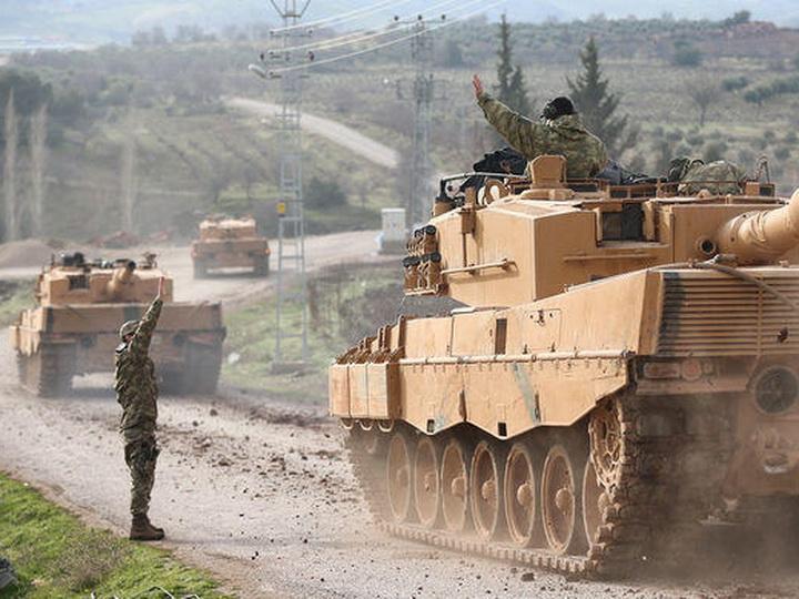 Турецкие города Рейханлы и Килис вновь подверглись ракетному обстрелу из Африна