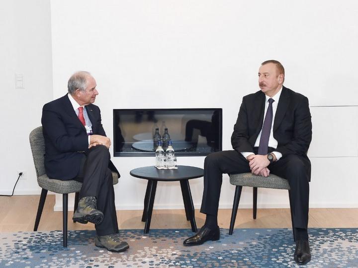 Президент Азербайджана встретился с соучредителем и исполнительным директором американской компании Blackstone - ФОТО