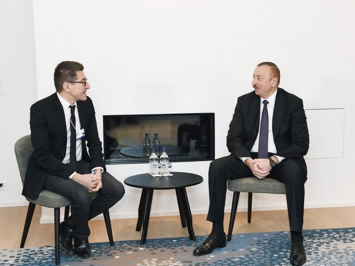 Президент Ильхам Алиев встретился с председателем и генеральным исполнительным директором компании Lazzard Freres - ФОТО
