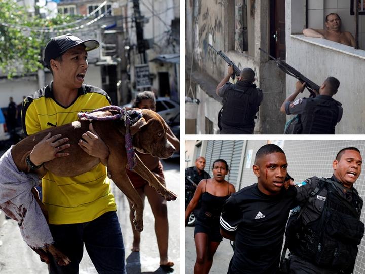 В фавелах Рио опять льется кровь. Нарковойны не щадят никого - ФОТО