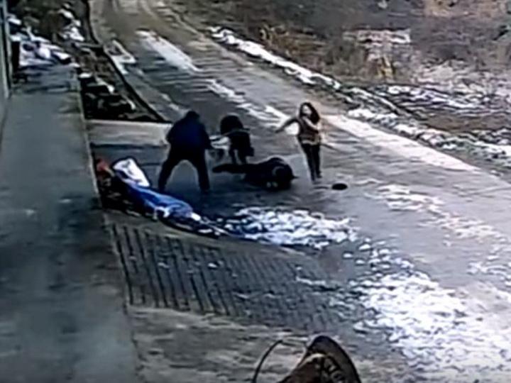 100-килограммовый кабан убил пенсионера и тяжело ранил девушку - ВИДЕО