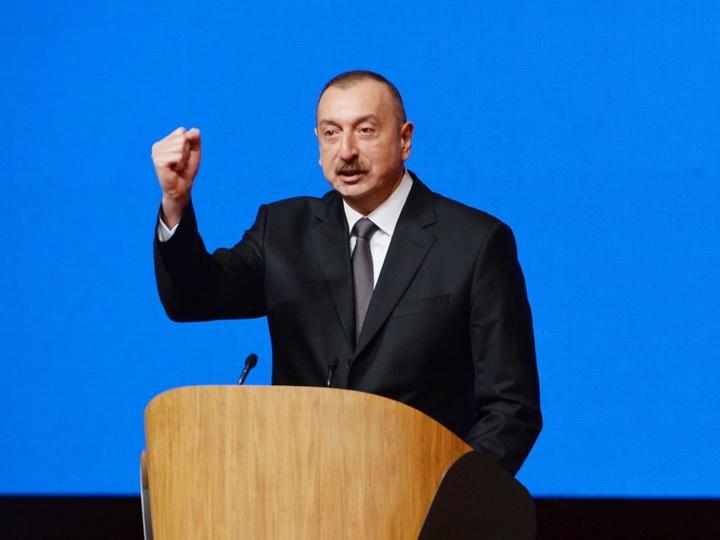 Ильхам Алиев: Азербайджан продолжит держать Армению в изоляции