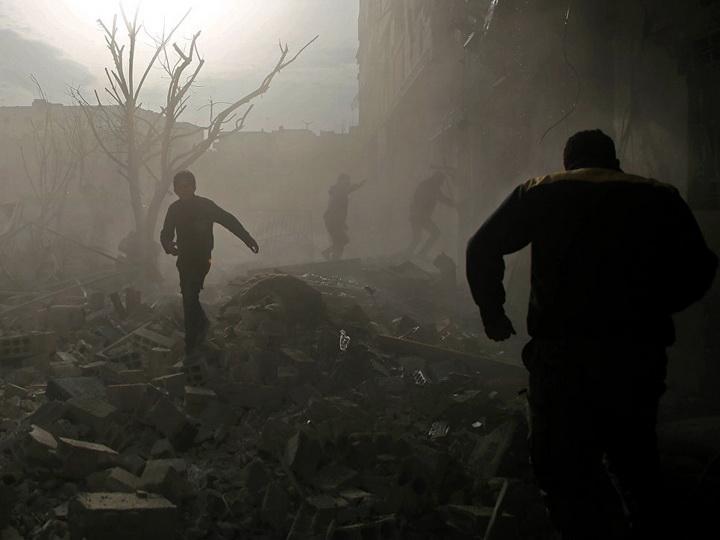 Боевики за двое суток выпустили по жилым кварталам Дамаска 27 мин
