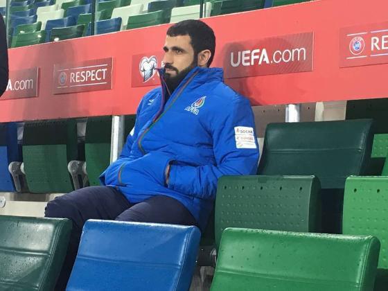 Стало известно время первого официального матча Рашада Садыхова на посту главного тренера сборной