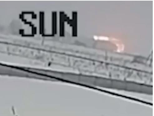 Момент крушения Ан-148 попал на камеру видеонаблюдения - ВИДЕО