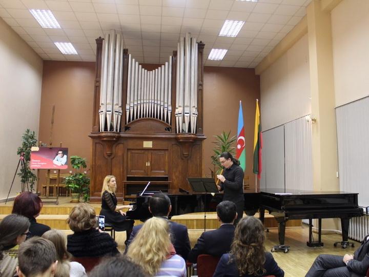 В Вильнюсе состоялся концерт, посвященный 100-летию Кара Караева - ФОТО