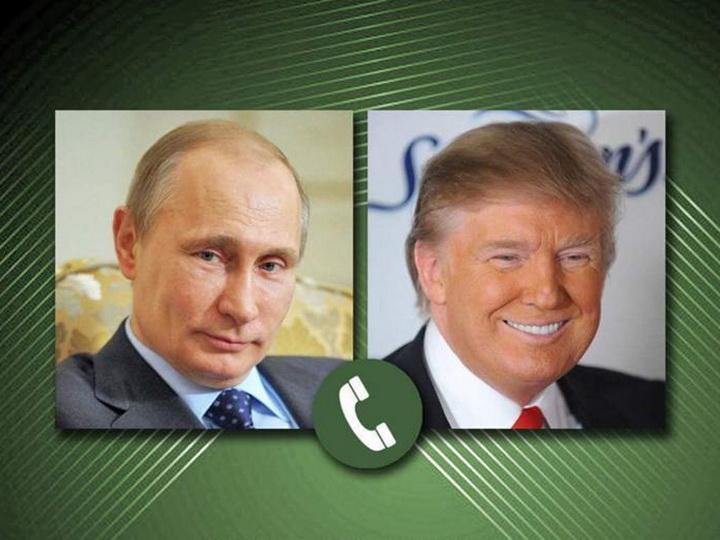 Путин поговорил по телефону с Трампом