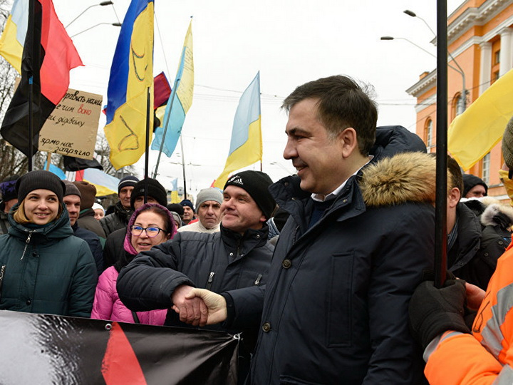 Саакашвили заявил, что митинг его сторонников пройдет в Киеве 18 февраля