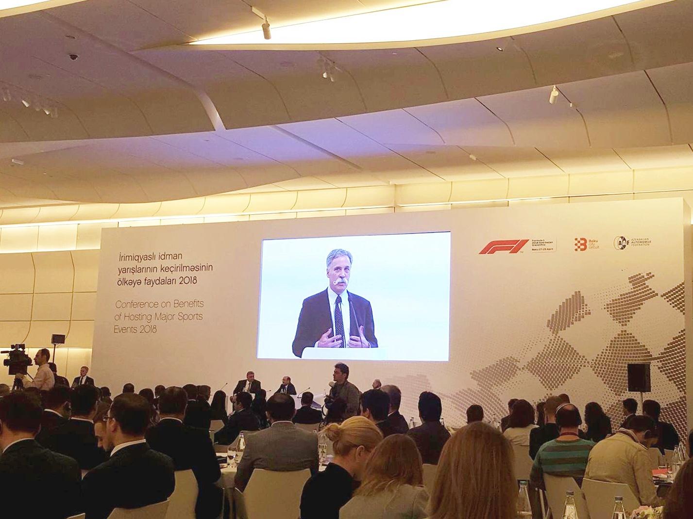 Baku Baku City Circuit провел конференцию «Преимущества проведения крупных спортивных мероприятий – 2018»