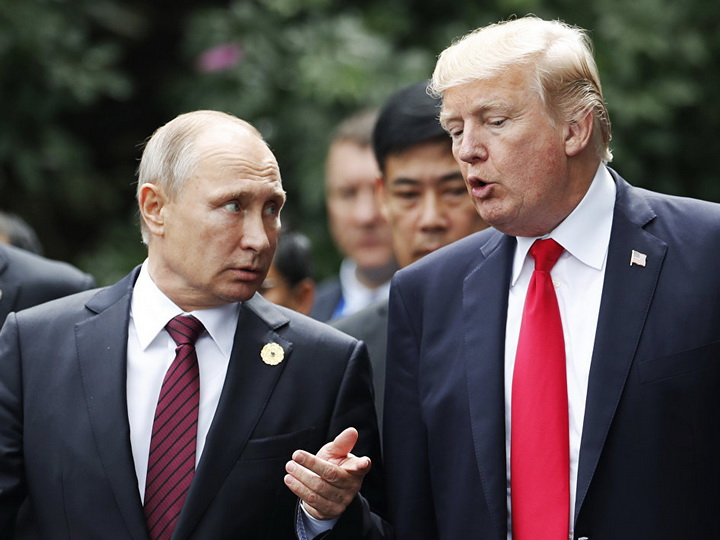 Белый дом рассказал о разговоре Путина с Трампом