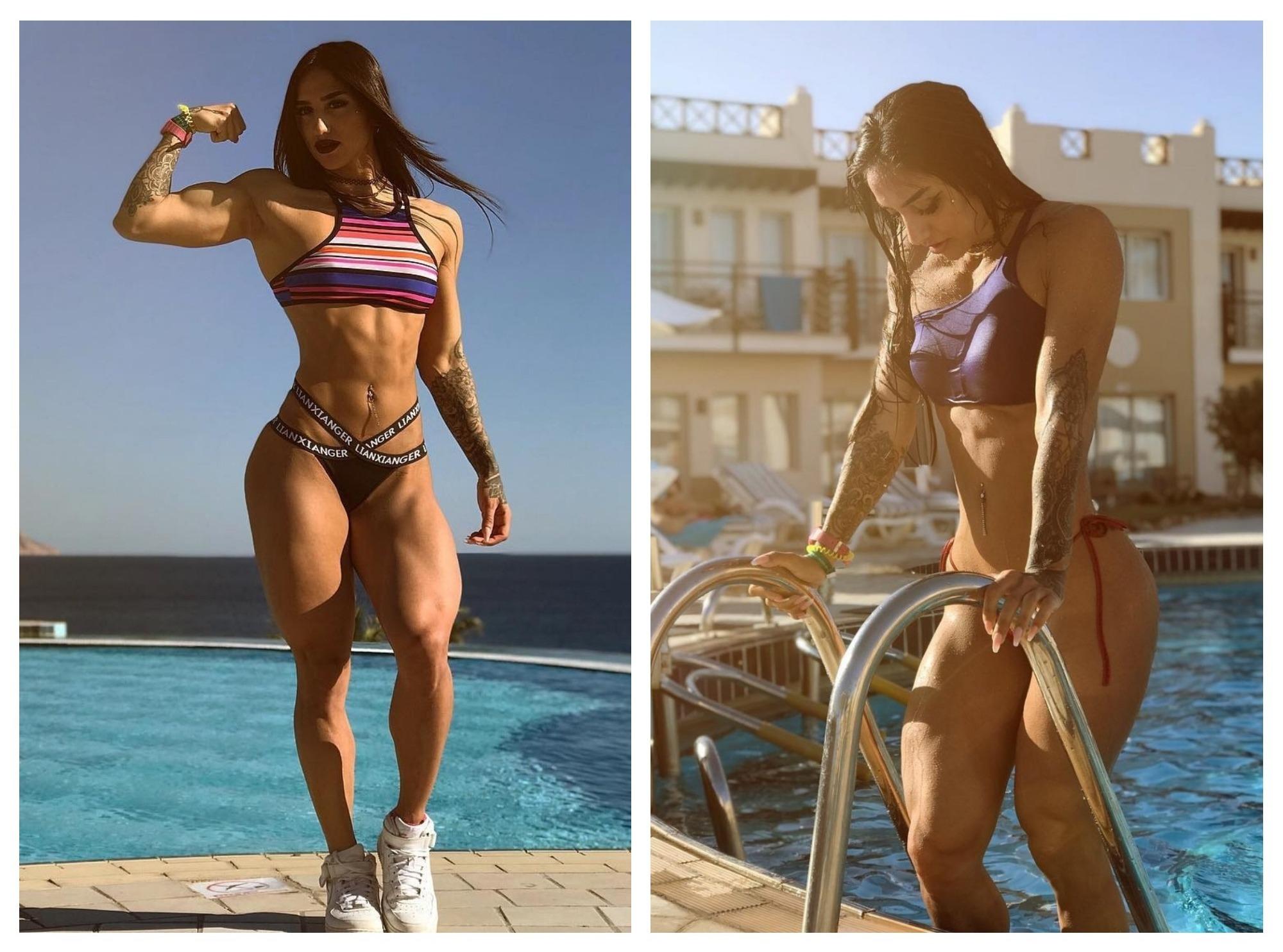 «Мисс стальная попа» Бахар Набиева на пляжном отдыхе – ФОТО – ВИДЕО