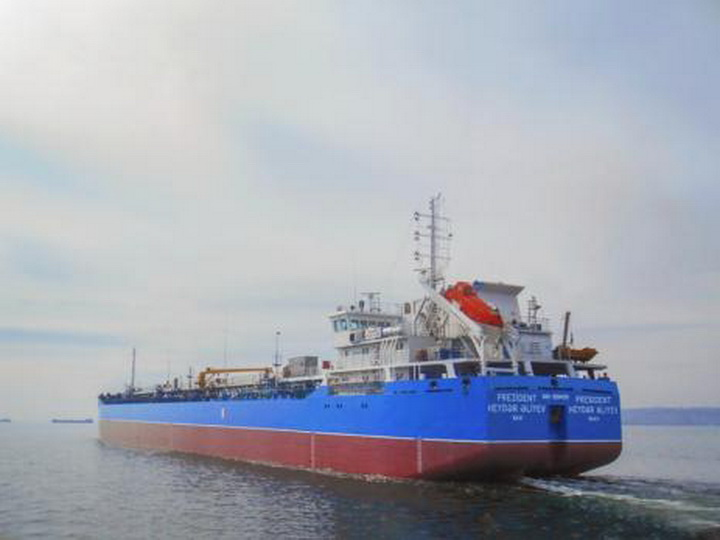Завершен ремонт танкера «Президент Гейдар Алиев»