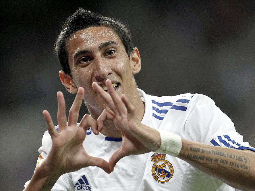 Ди Мария: «Я бы запросто играл в «Барселоне» после «Реала»